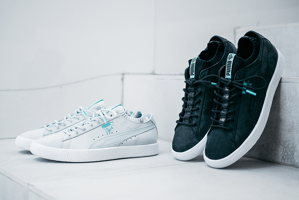 Diamond Supply Co Puma Clyde Sock