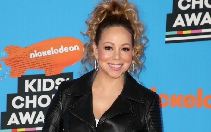 Mariah Carey at the Nickelodeon Kids' Choice Awards.