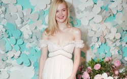 Elle Fanning's Princess Dress & Heels