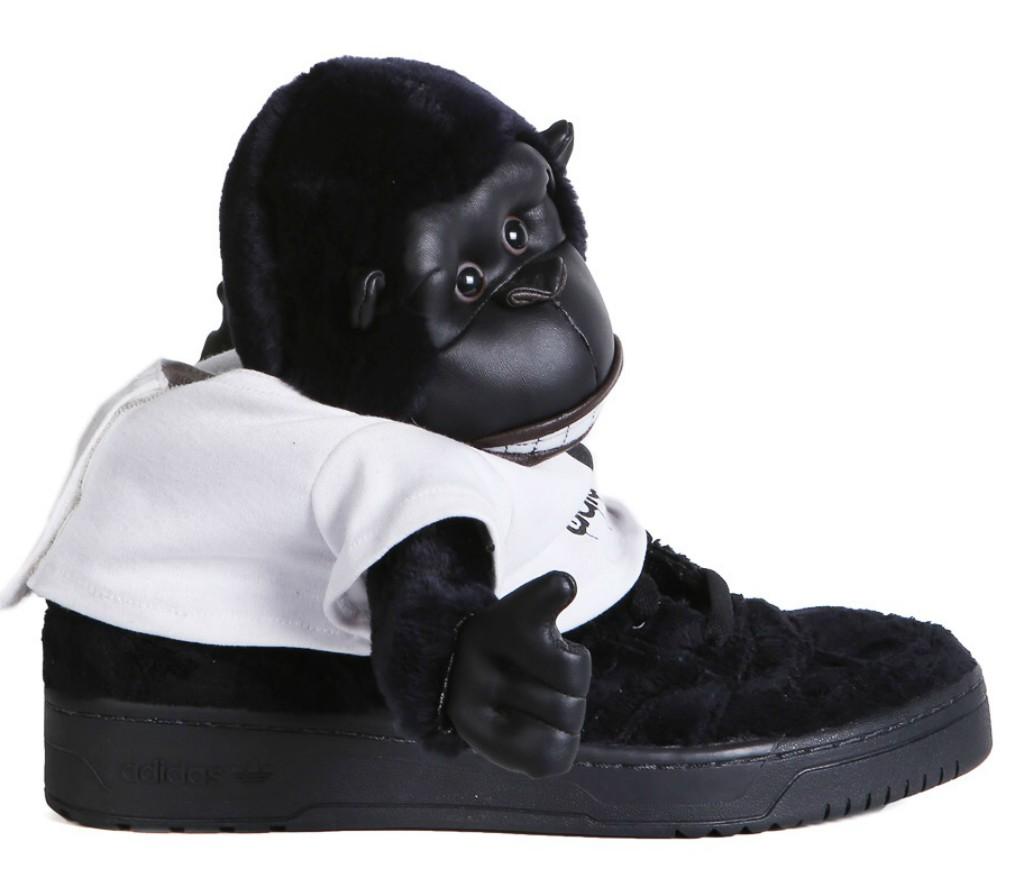 adidas X Jeremy Scott Gorilla sneakers