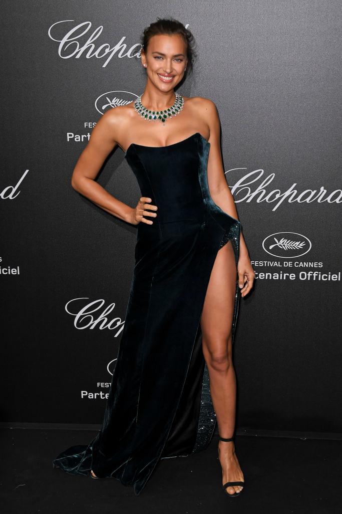 Irina Shayk, cannes film festival, chopard party