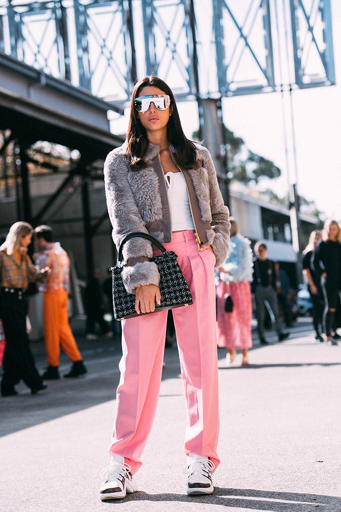 street style, sydney fashion week, jaime ridge, louis vuitton archlight sneakers