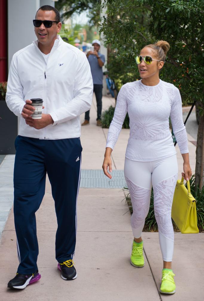 Alex Rodriguez and Jennifer Lopez, nike, nike air presto ultra flyknit