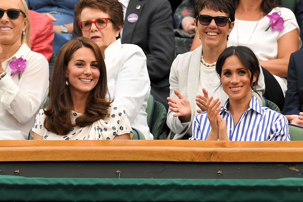 Kate Middleton Meghan Markle Wimbledon