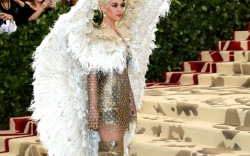 Stars in Boots at the Met Gala