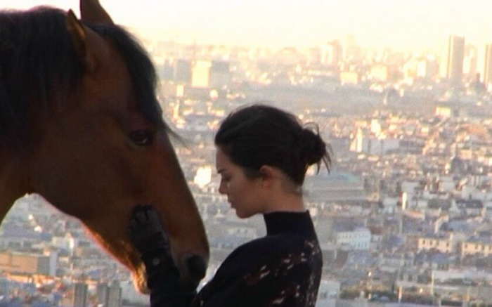 Kendall Jenner shares a clip of her new Longchamp commercial on social media.