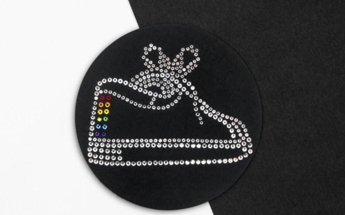 Kenneth Cole Swarovski Crystal Patch, kenneth cole KAM sneaker