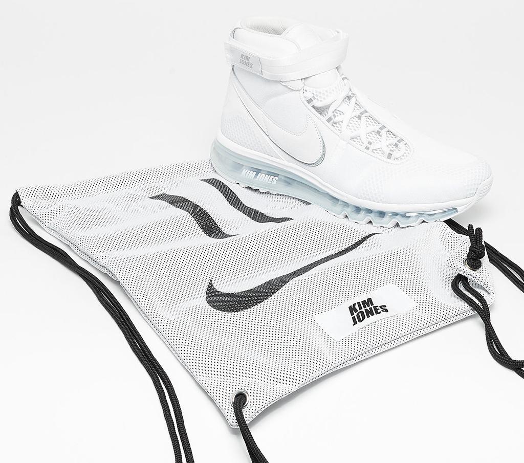 Kim Jones Nike Air Max 360 Hi White