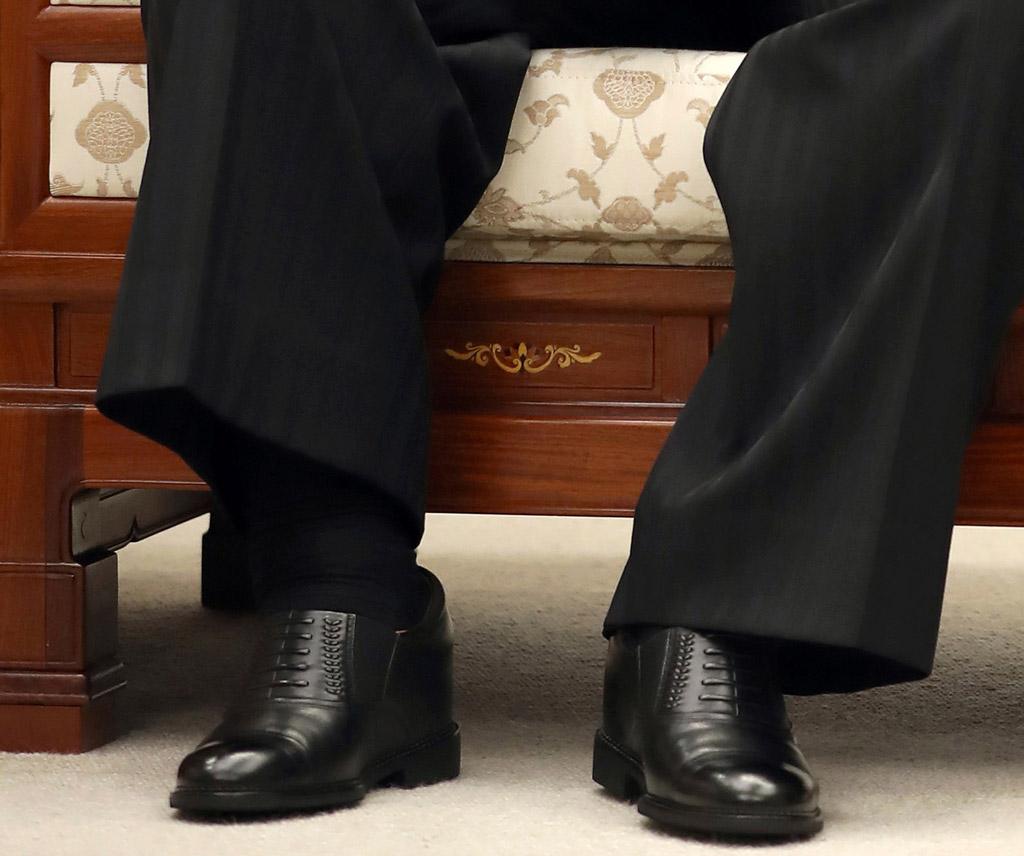 Kim Jong Un shoes