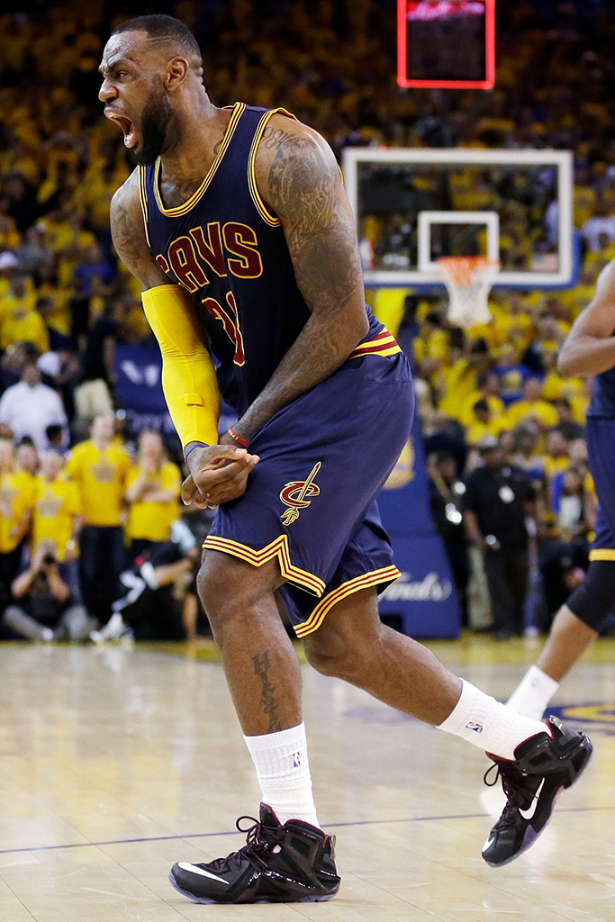 LeBron James' Best On-Court Shoe Style