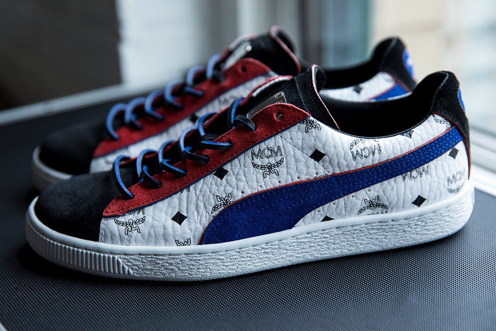 MCM Puma red blue black