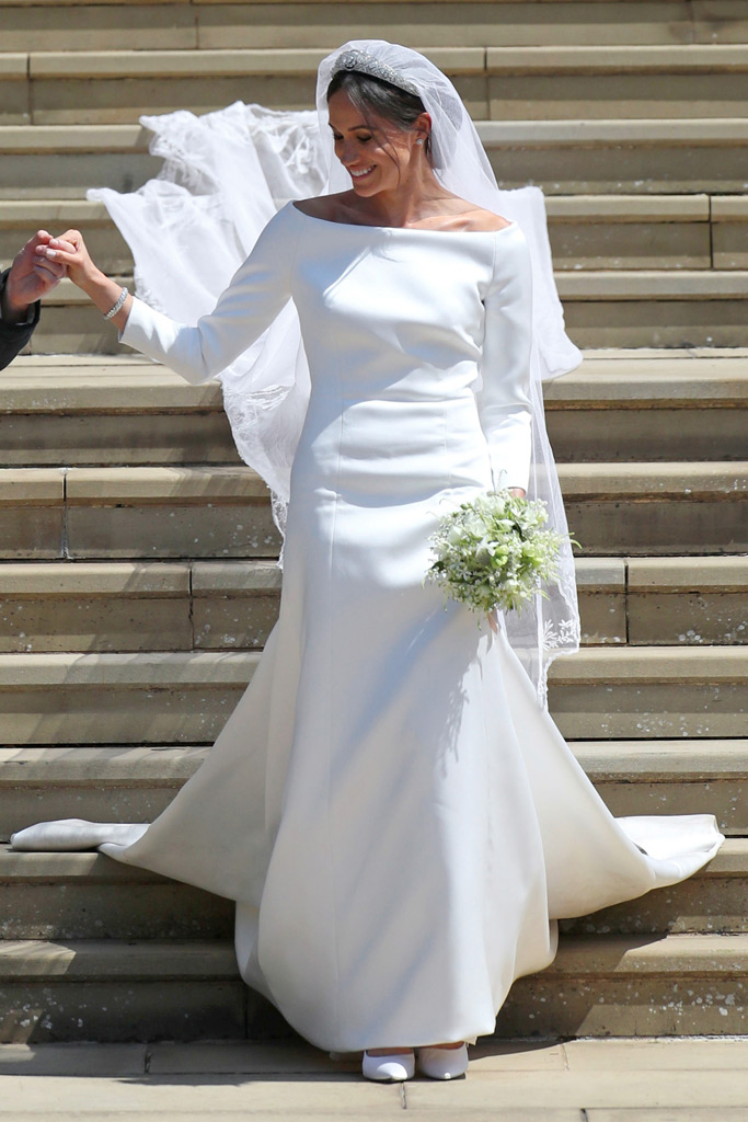 givenchy, meghan markle, wedding dress