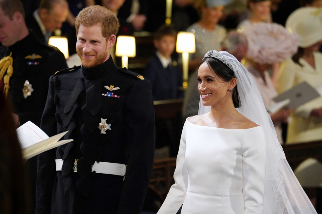 prince harry, meghan markle, wedding day