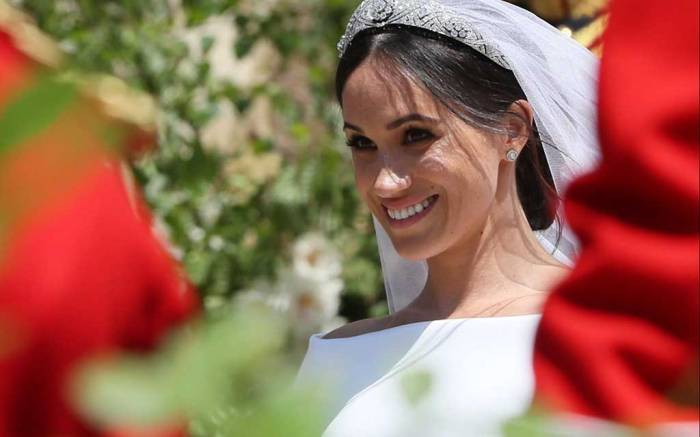 Meghan Markle royal wedding givenchy