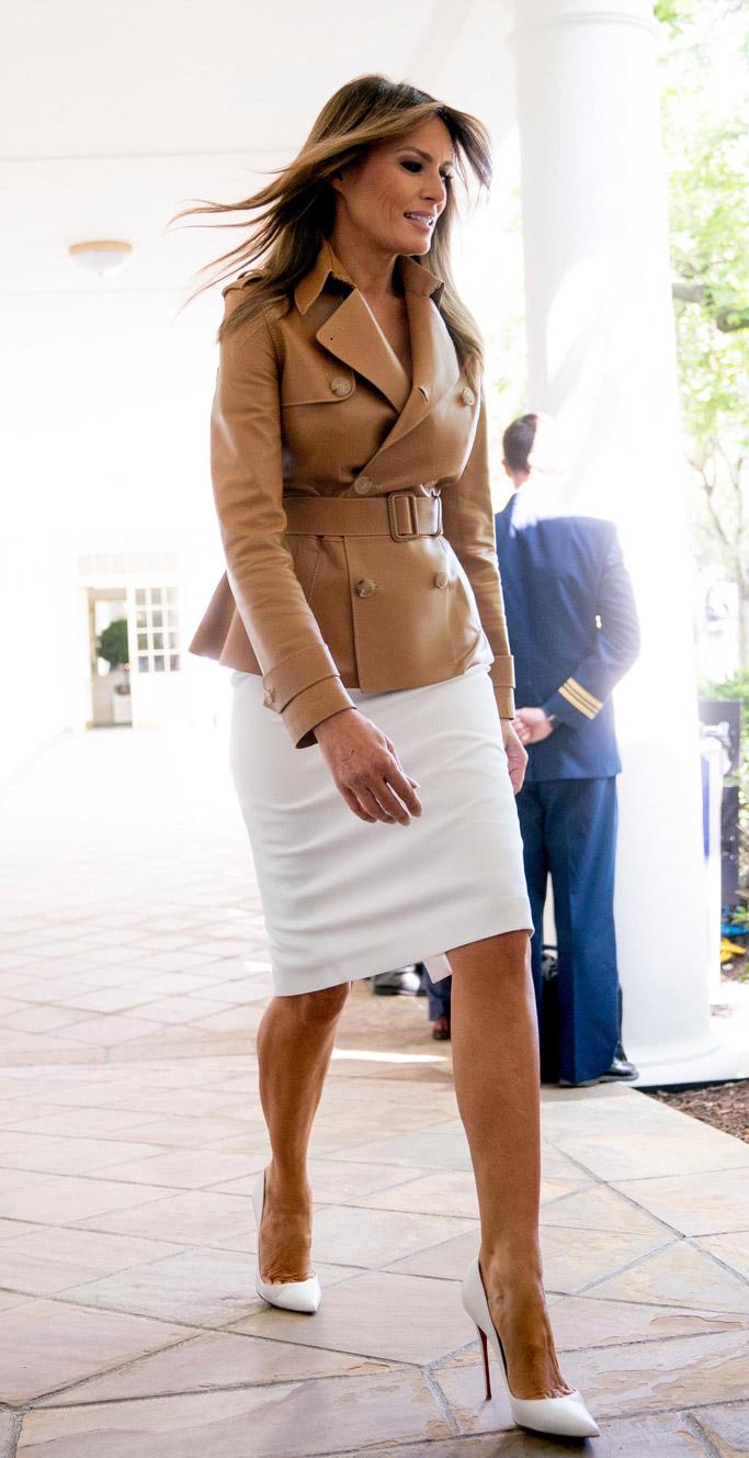 Melania Trump, christian louboutin, be best