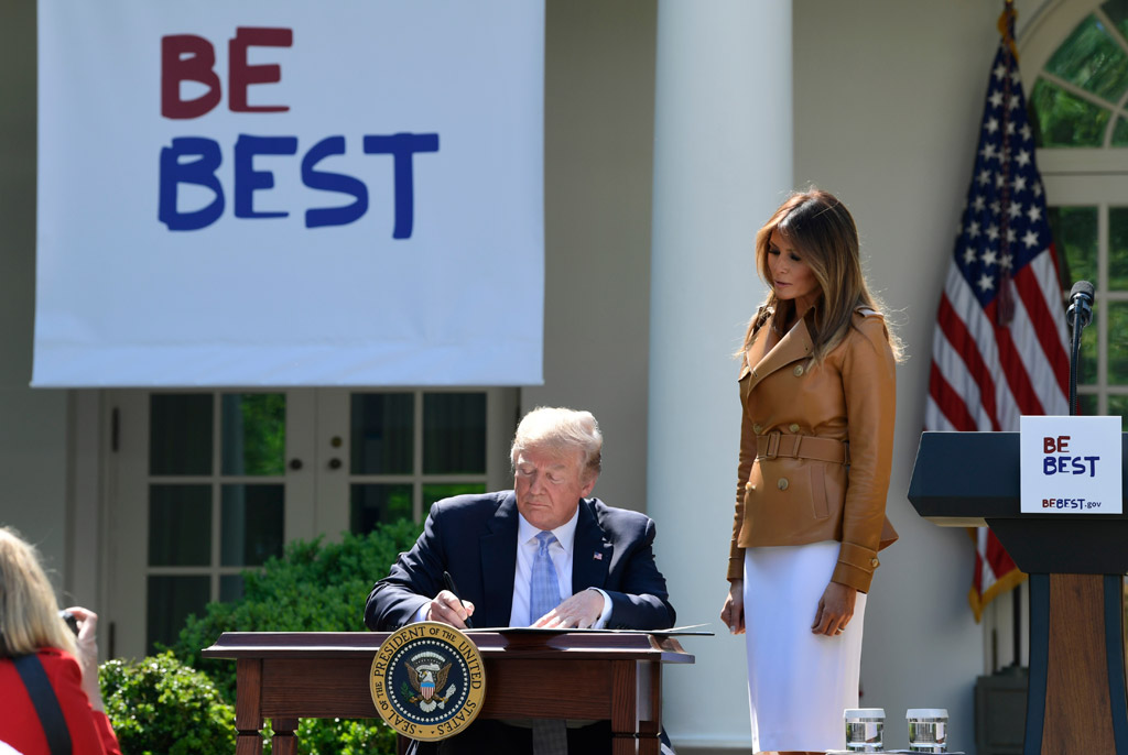 Melania Trump, be best day
