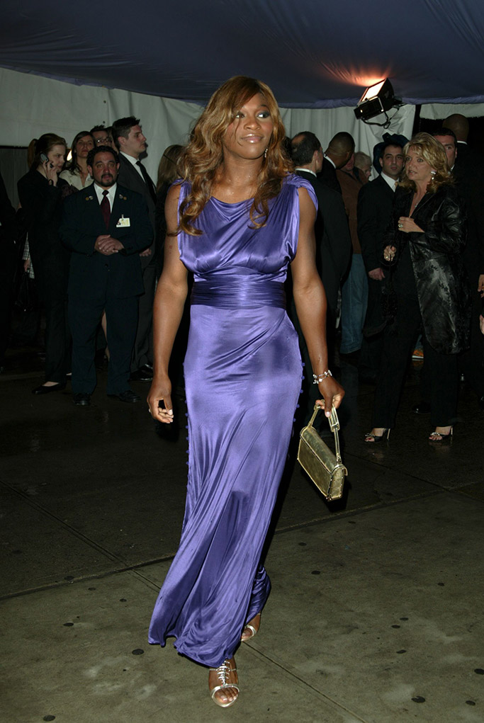 met gala, serena williams, 2004