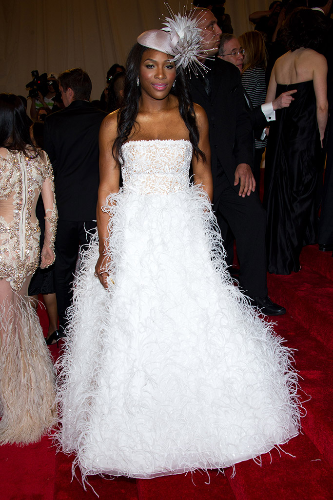 met gala 2011, serena williams, red carpet, style