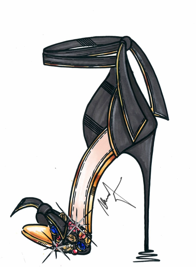 met gala 2018 alexandre birman kate upton shoe