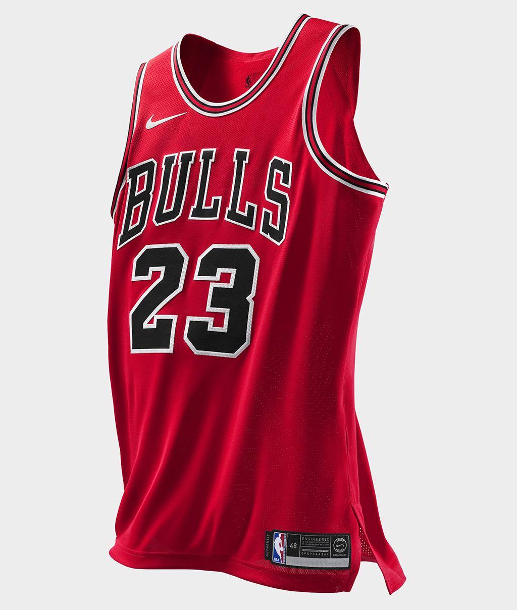 Michael Jordan Authentic Bulls Jersey by Nike