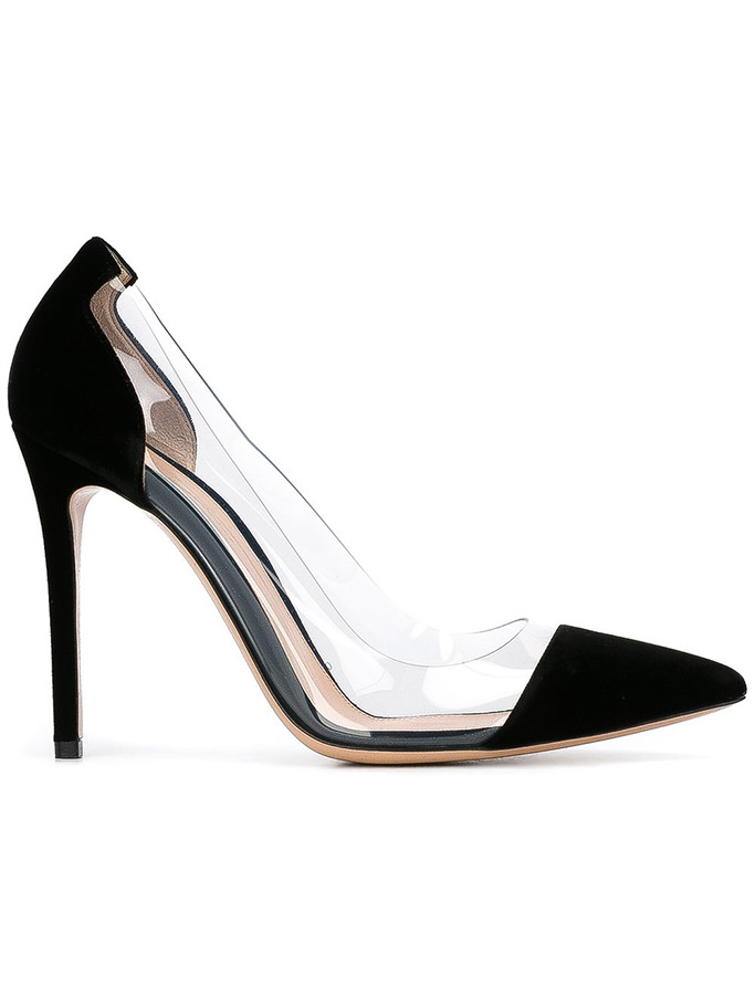 mothers day, shoe gift guide, gianvito rossi plexi pumps