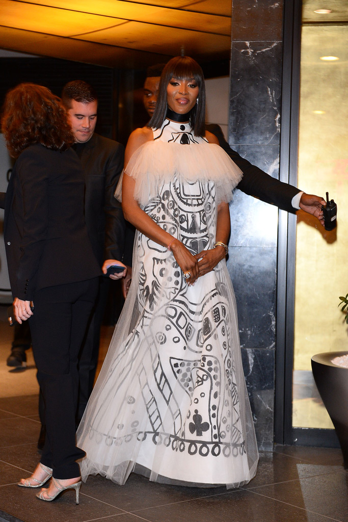 naomi campbell, cannes,