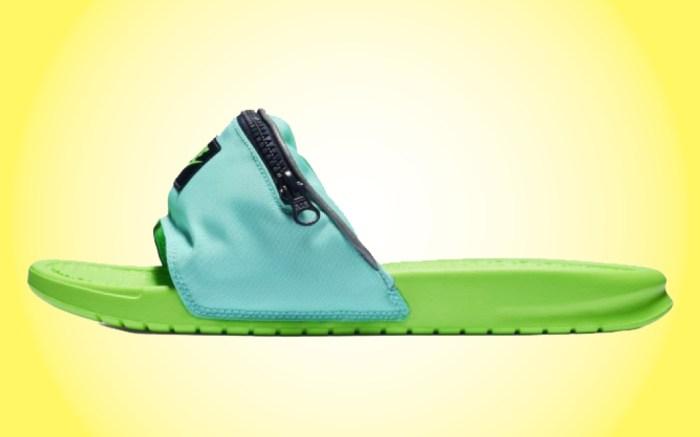 Nike Fanny Pack Benassi Slide volt teal
