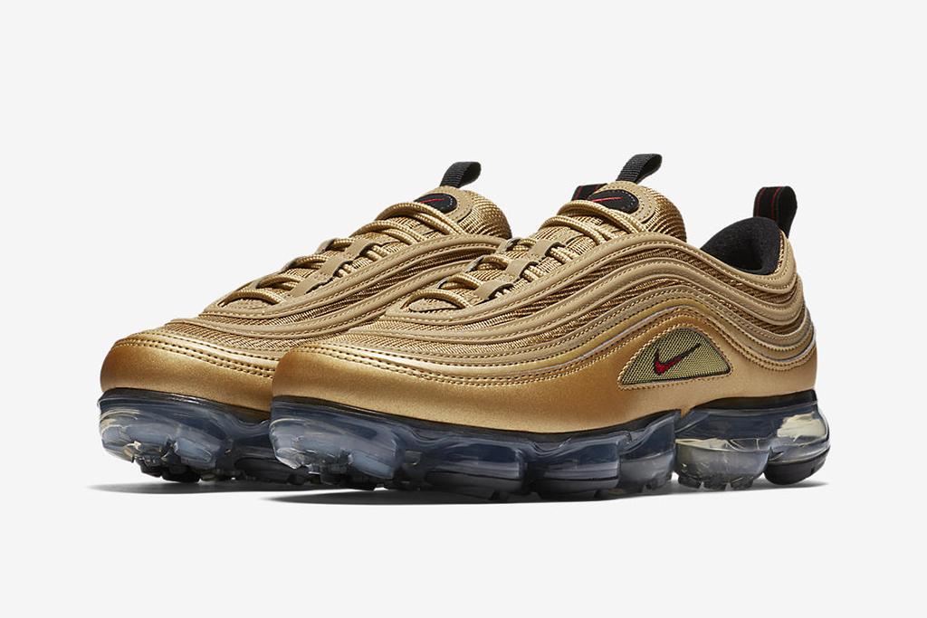 Nike VaporMax Metallic Gold Pack