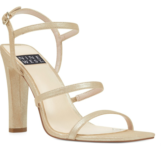 nine west Gabelle 40th Anniversary Capsule Collection Sandal