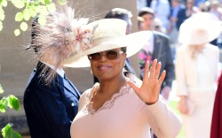 oprah, royal wedding style,
