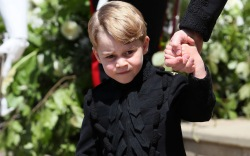 prince george, royal wedding, meghan markle,
