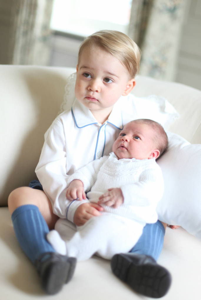 prince george, princess charlotte, royal family