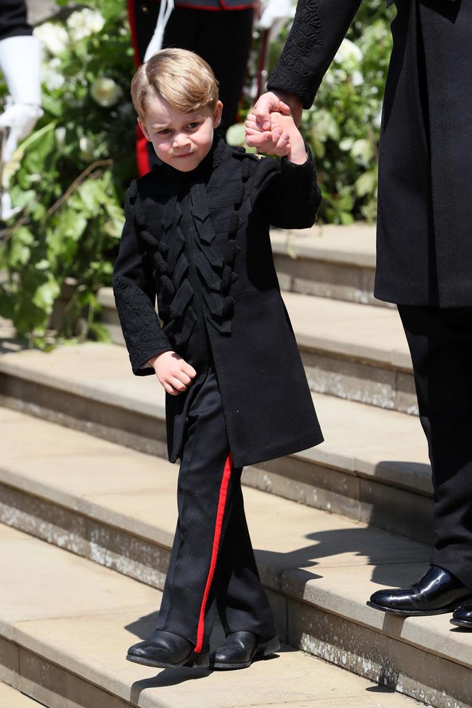 prince george royal wedding meghan markle prince harry