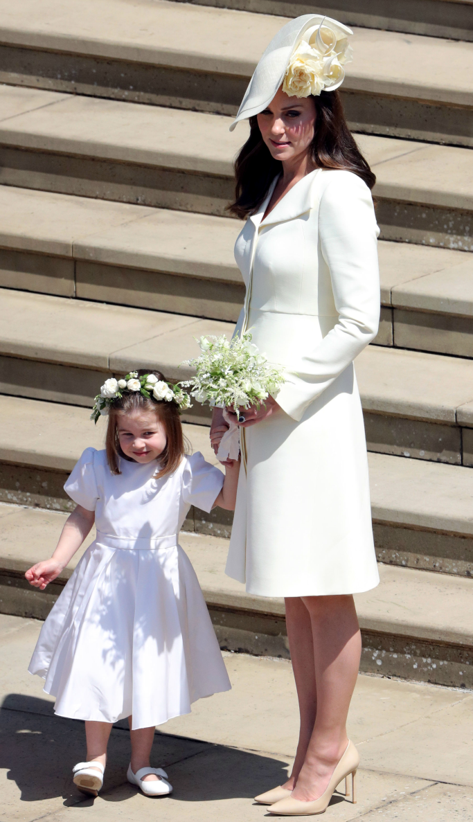 kate middleton, princess charlotte, royal wedding