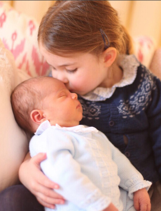 prince louis, princess charlotte, royal baby, newborn