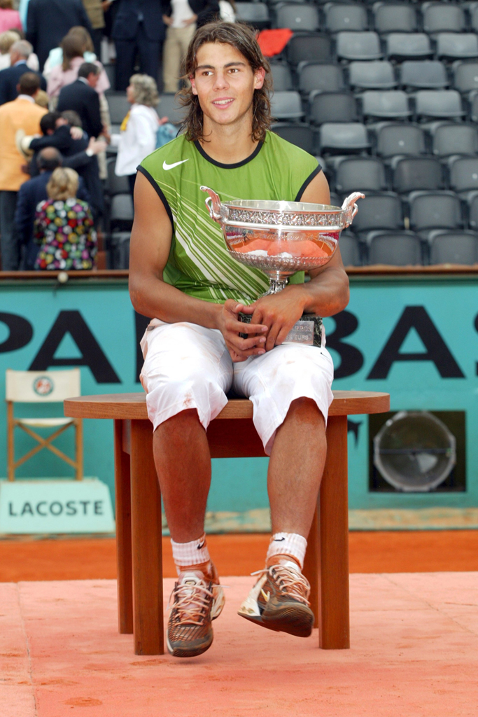 Rafael Nadal French Open 2005