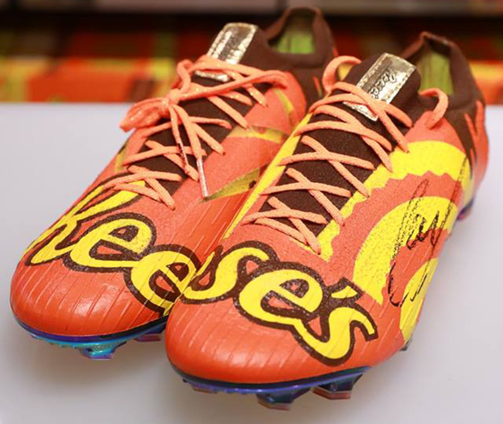 The Shoe Surgeon Reese's Nike Mercurial Vapor 360 cleat