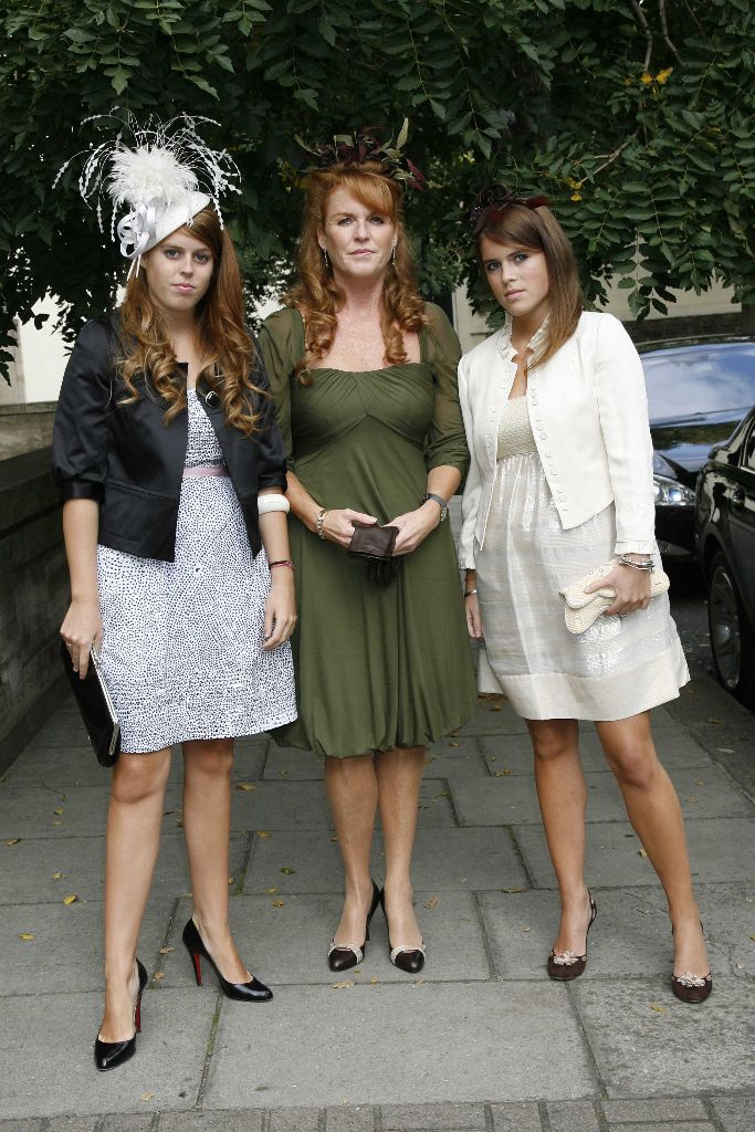 princess eugenie, princess beatrice, duchess sarah ferguson