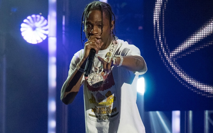Travis Scott'Jimmy Kimmel Live!' TV show, Los Angeles, USA - 05 Dec 2017