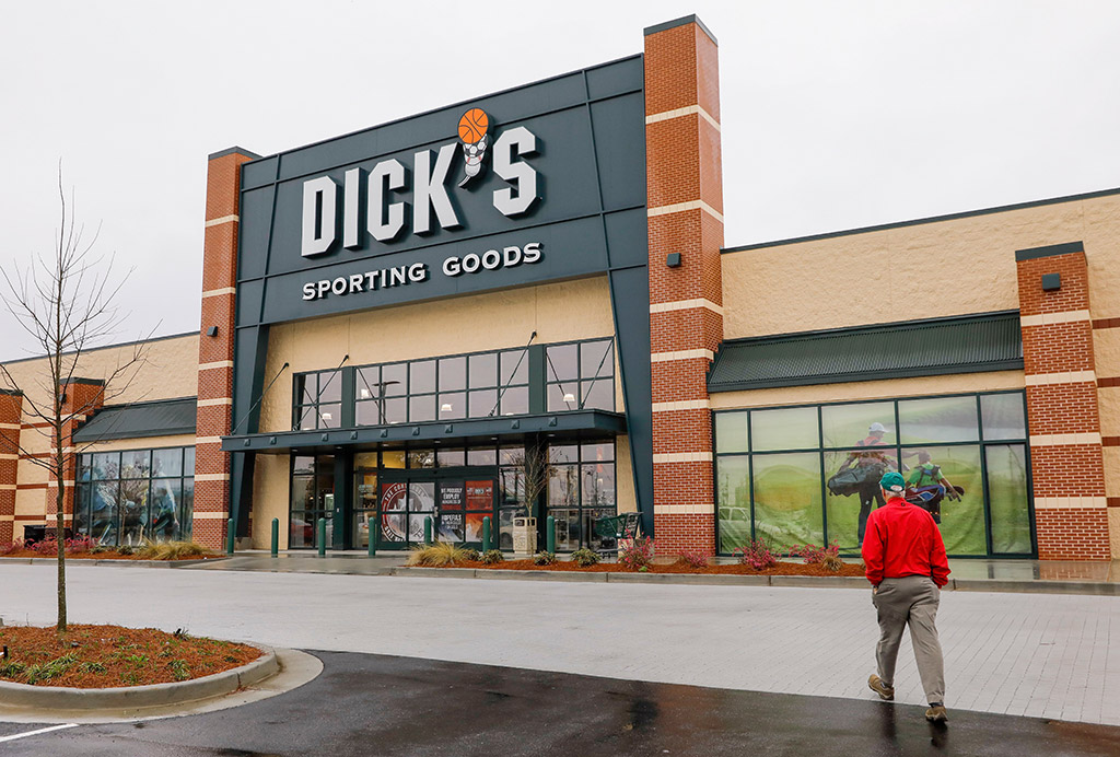 Dick's sporting goods opens