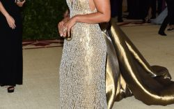 Gold Looks at the Met Gala