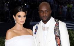 Kendall Jenner and Virgil AblohThe Metropolitan