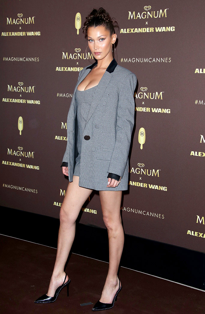 Bella Hadid, Alexander Wang, Cannes Film Festival