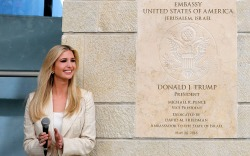 Ivanka Trump, US embassy, Jerusalem, Israel