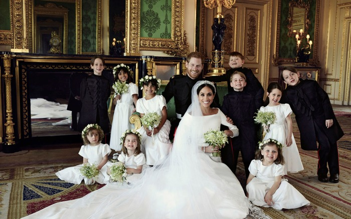 Prince Harry, Meghan Markle, official wedding portrait