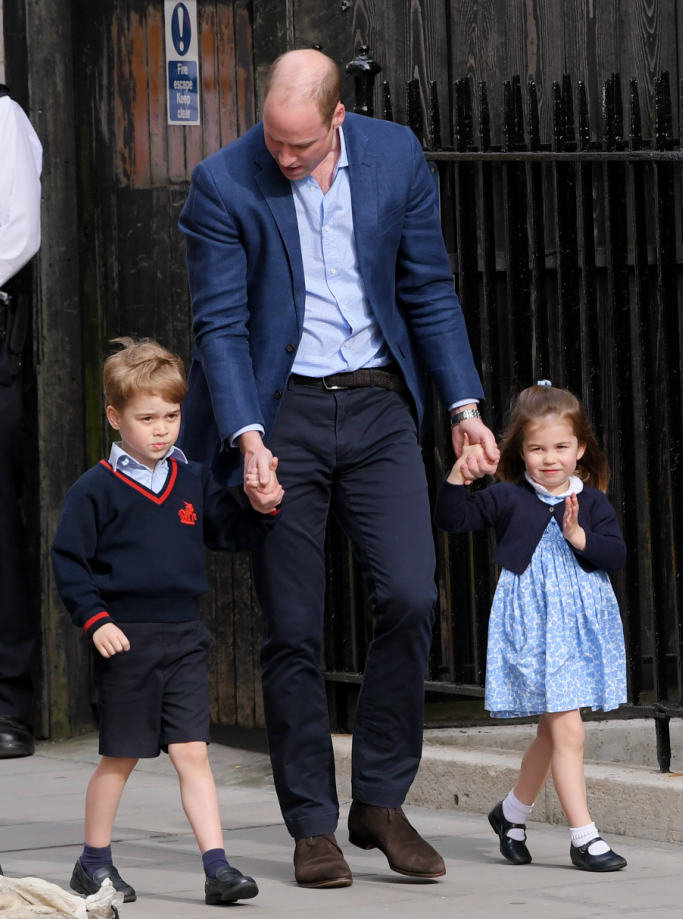 princess charlotte, prince william, prince george, prince louis birth