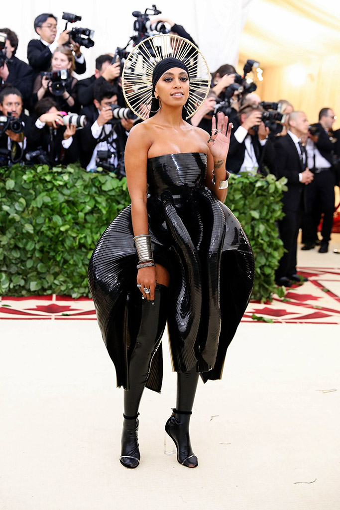 solange Knowles, brother vellies, met gala 2018