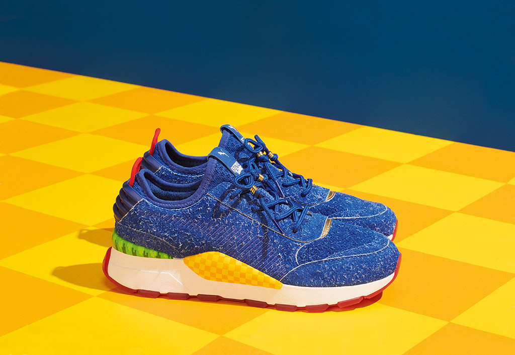 Sega x Puma's Sonic the Hedgehog Shoe