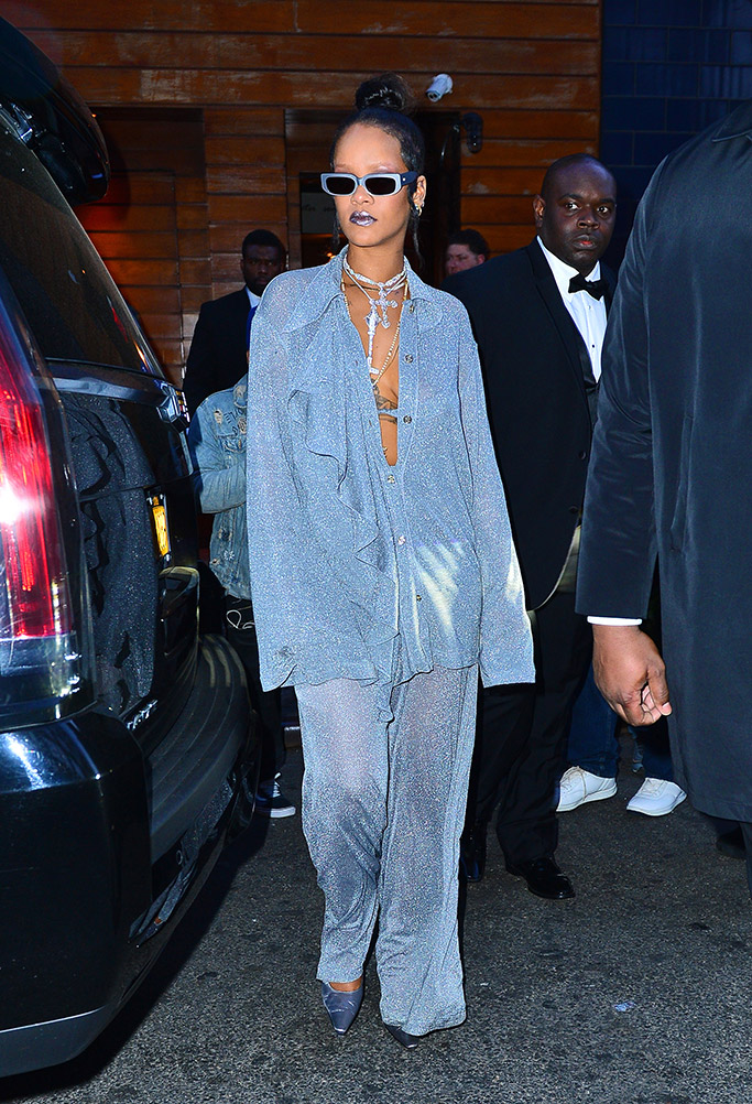 Rihanna, met gala 2018, met gala after party