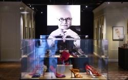 Manolo Blahnik, Manolo Blahnik shoe exhibit,